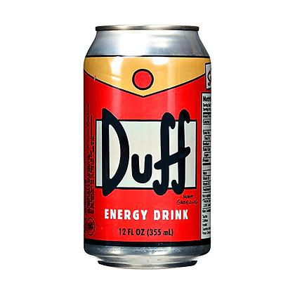 DUFF ENERGY DRINK