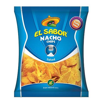 EL SABOR NACHOS CHIPS SALTED- 100 G