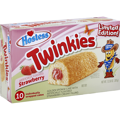 HOSTESS TWINKIES STRAWBERRY PEZZI 10