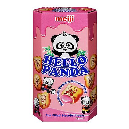 MEIJI HELLO PANDA STRAWBERRY 60 g