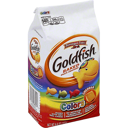 GOLDFISH CRACKERS - COLORS