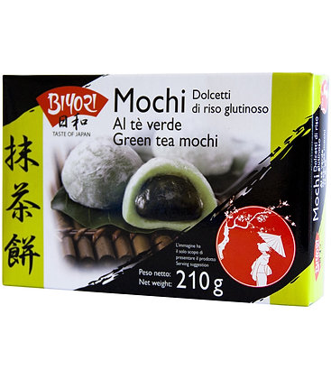 MOCHI DOLCE GIAPPONESE GUSTO MATCHA TEA VERDE