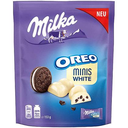 MILKA OREO MINIS WHITE CHOCOLATE