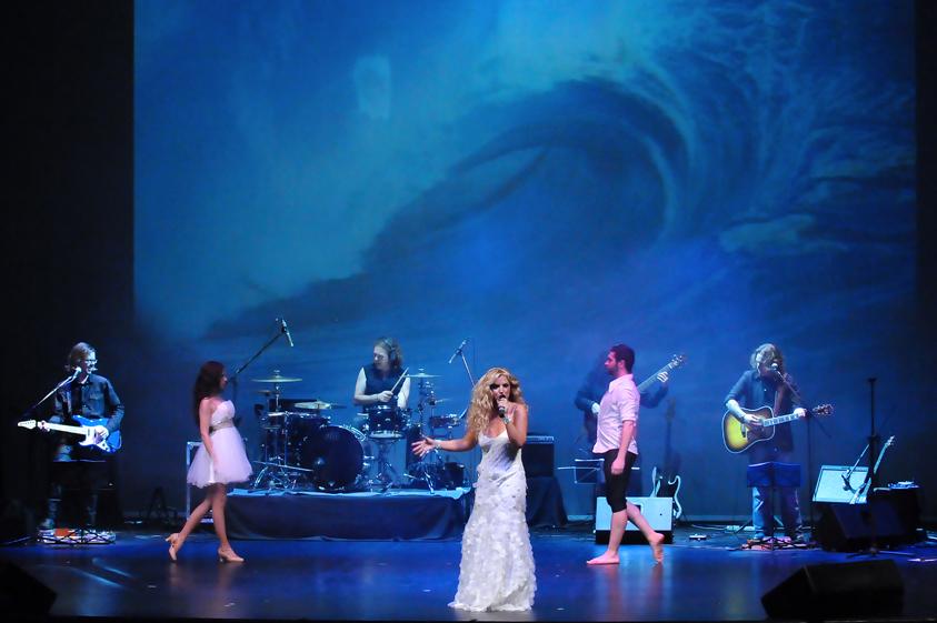 Con REBECA en THE WORLD OF ABBA