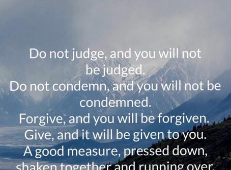Judge Not 🙏🏾