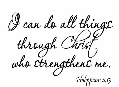 Philippians 4:13🖤