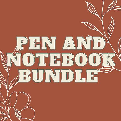 Pen and Notebook Bundle