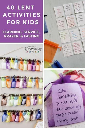 40 Activities for Lent