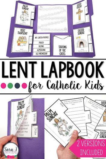 Lent LapBook