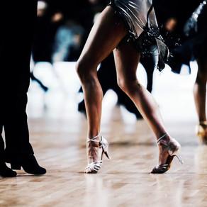 Dance floor etiquette.
