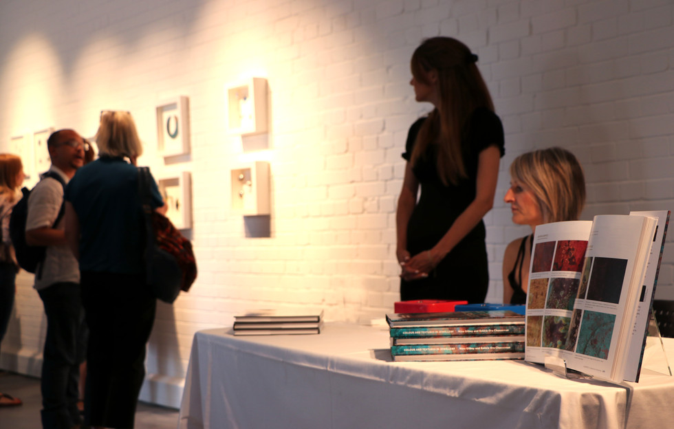 Colour and Textures Book Launch