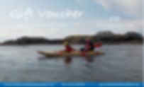 Family sea kayaking gift voucher with North Wales Sea Kayaking in Anglesey, Sea Kayaking Wales