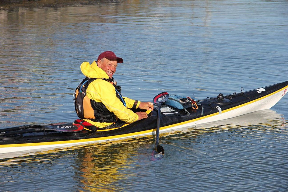 Steve Miles of North Wales Sea Kayaking in Anglesey, Sea Kayak Coach and Guide in Anglesey, North Wales