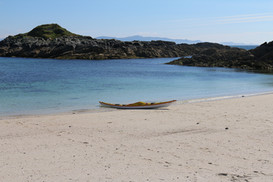Sea kayaking expedition in Scotland