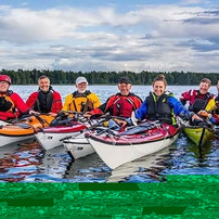 Sea kayaking expedition in Sweden