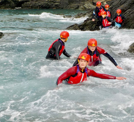 Coasteering with Anglesey Adventures