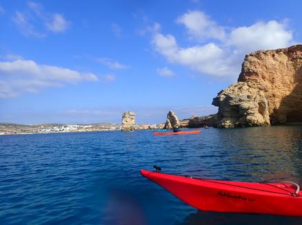Sea Kayaking symposium in Naxos, Greece
