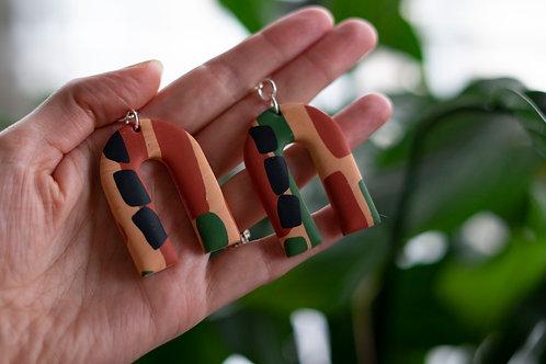 Safari arch earrings - Large