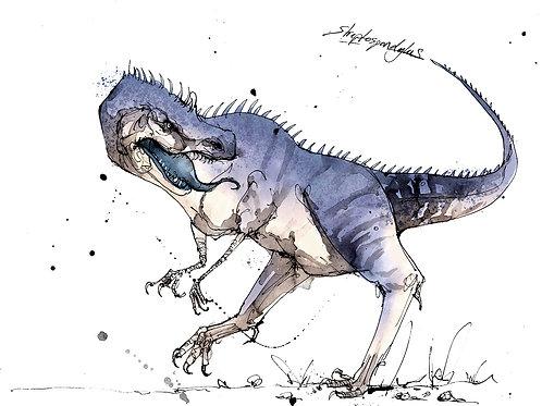 Streptospondylus print