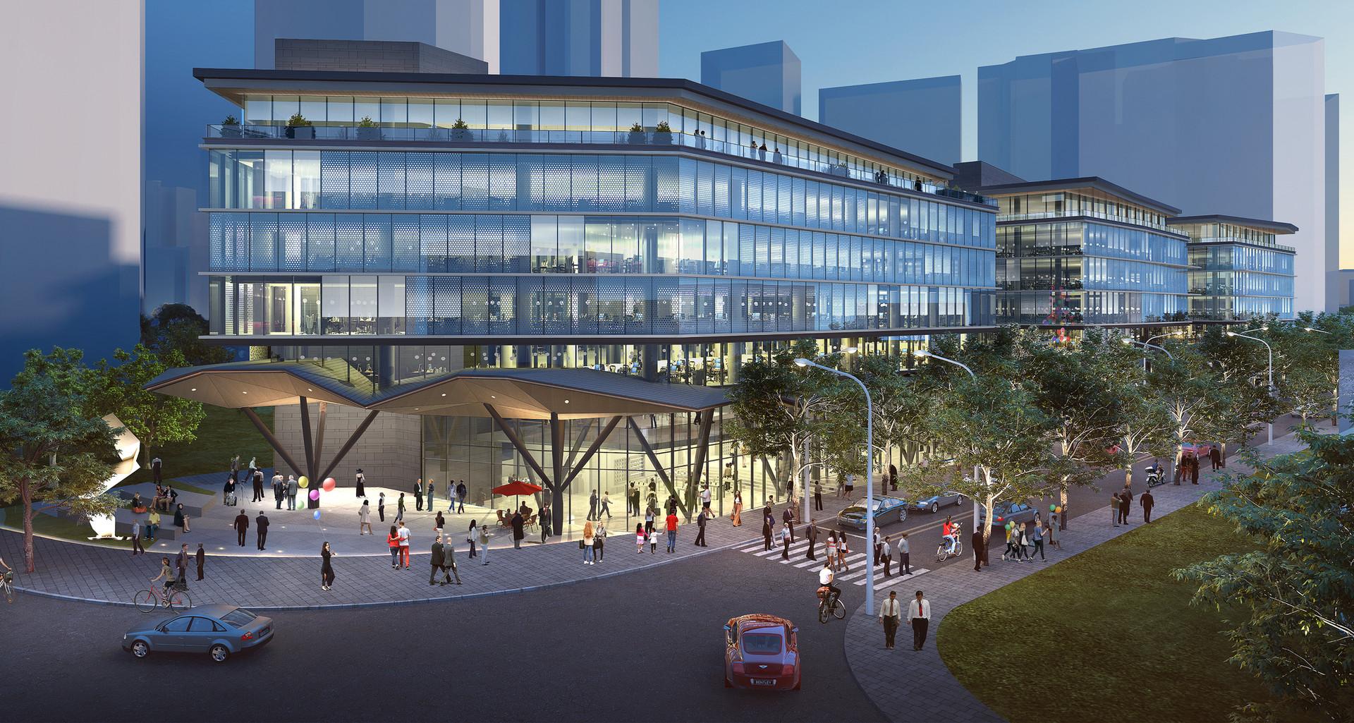 Shanghai Commercial Office