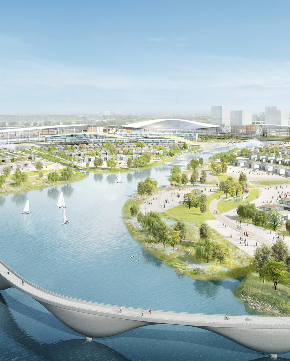Waterfront EcoCity Mixed Use Master Plan
