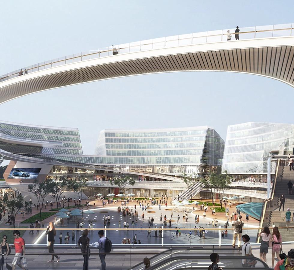 天津生態城 河濱四號商業綜合開發