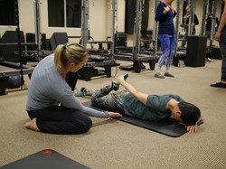 physical therapy, assessment, prone knee bend, doctor of physical therapy