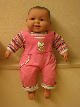 Dressed Baby Massage Doll (DDZF0101)