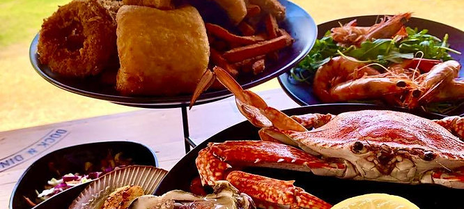 Ultimate Seafood Platter (for 2 with Bottle Wine)
