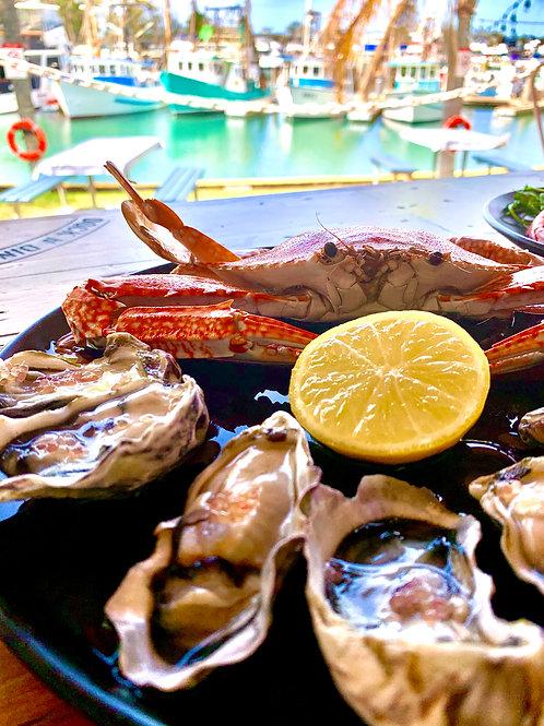 Lrg Fresh Sand / Blue Swimmer Crab