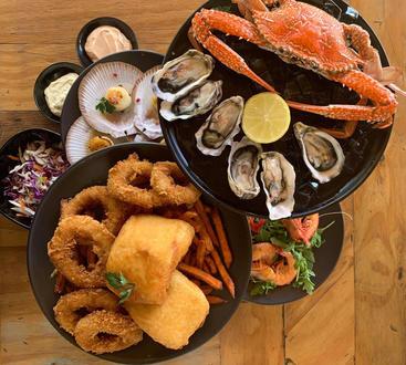 Seasars Ultmate Seafood Platter