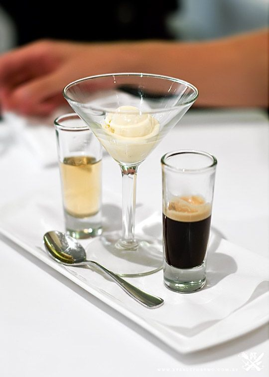 Seasars Traditional Affogato