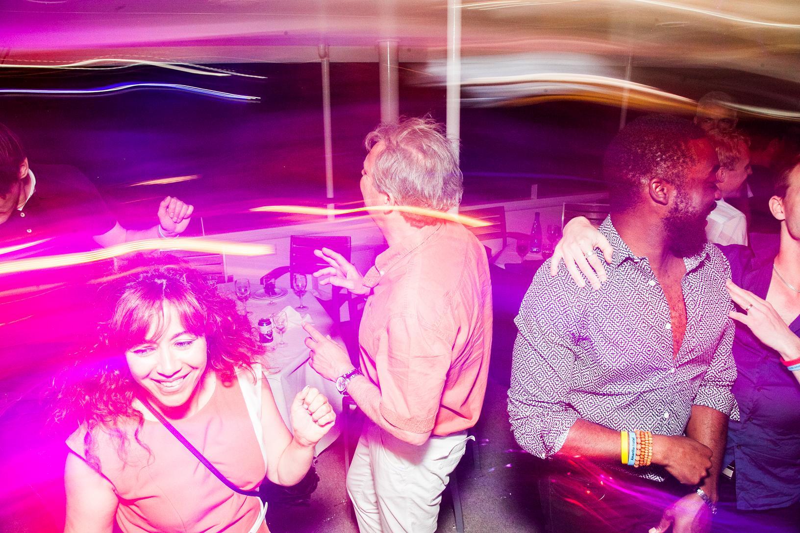 CSA people dancing