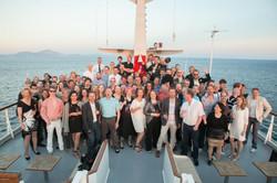 CSA sun deck group of people