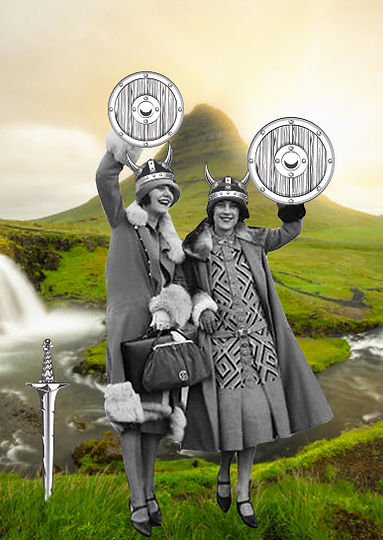 two ladies iceland vikings tall.jpg
