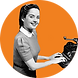typewriter woman orange.png