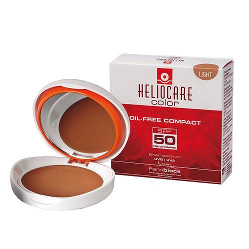 HELIOCARE - COMPACTO OIL FREE - TONOS: LIGHT -FAIR Y BROWN - 10gr.