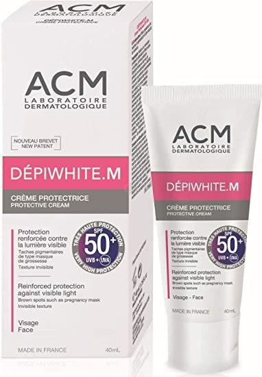 DEPIWHITE M CREMA PROTECTORA SPF 50+ INVISIBLE - TUBO 40ML