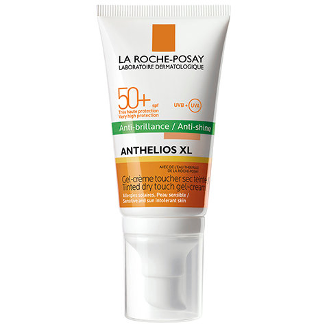 LA ROCHE ANTHELIOS XL GEL TOQUE SECO SPF50+ CON COLOR  Y AIRLICIUM  50ml