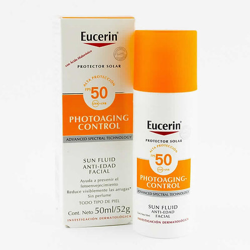 EUCERIN- PROTECTOR SOLAR SPF50+ - PHOTOAGING CONTROL - 50ml