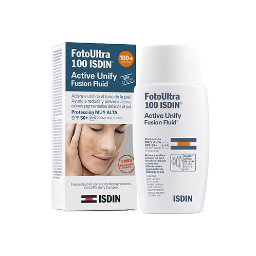 ISDIN FOTOULTRA 100 ACTIVE UNIFY FUSION FLUID - 50ML