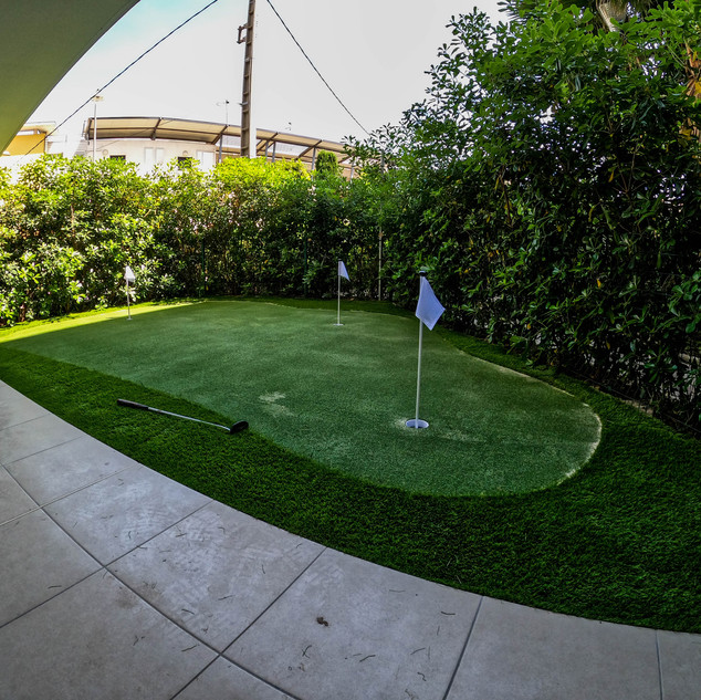 Putting green Osteopath  - Sud gazon Syn