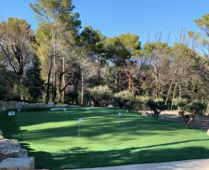 Chantier - Gazon synthetique - Golf
