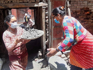 Construction Resumes in Nepal - July 2021