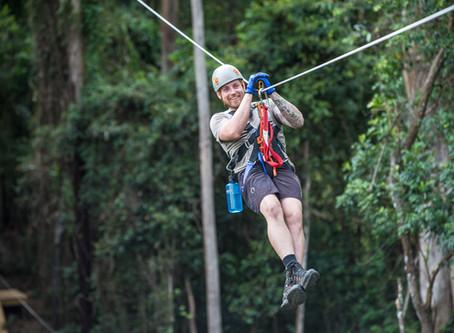 Tourists go out on a limb