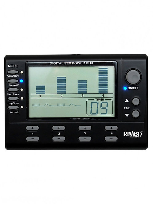 RIMBA - 4 CANAL - ELECTRO POWER BOX AVEC DISPLAY LCD