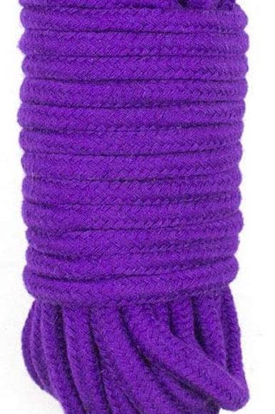 Bondage Rope Cotton 10 m Green