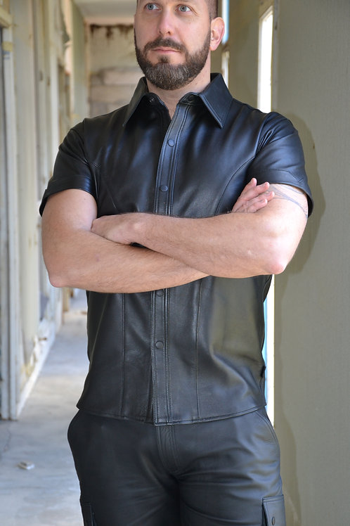 K'ARGO BLACK FASHION SHIRT