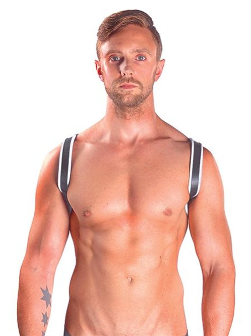 Leather Sling Premium Blanc