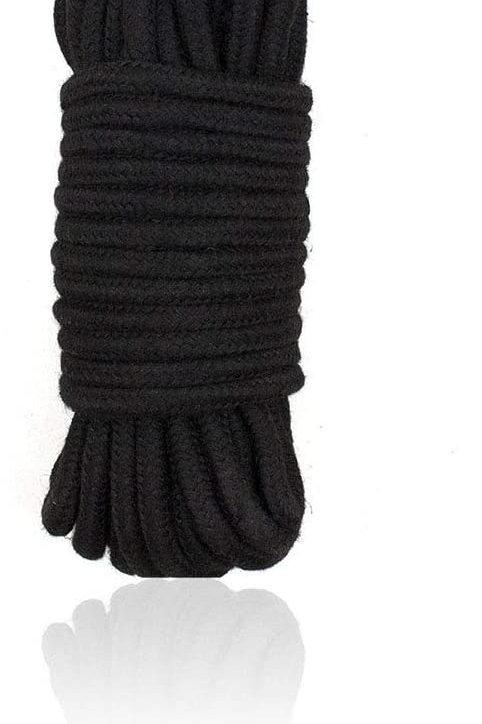 Bondage Rope Cotton 10 m Noir